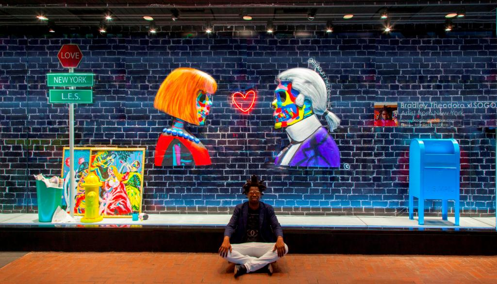 走訪紐約街頭藝術!SOGO x Bradley Theodore藝術展覽