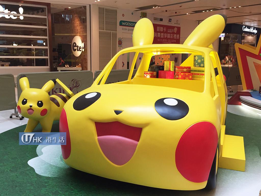 必影比卡超車!Mikiki x 寵物小精靈聖誕展覽