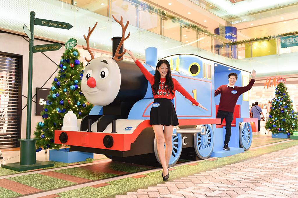 20 呎摩天輪!荃灣廣場Thomas &Friends聖誕小鎮