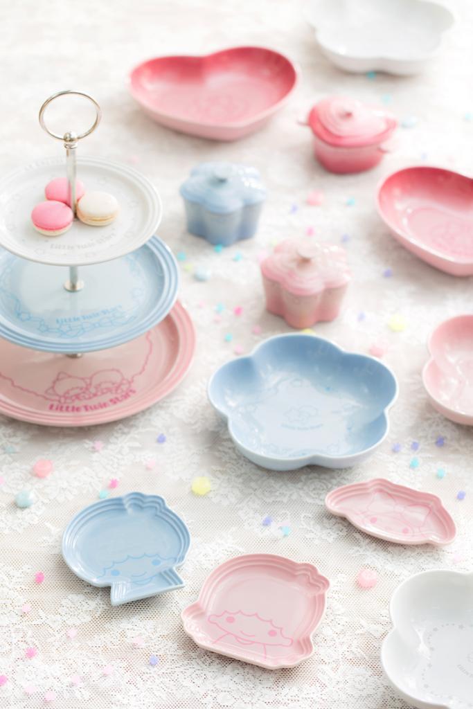 Le Creuset聯乘Sanrio 推出下午茶餐具系列