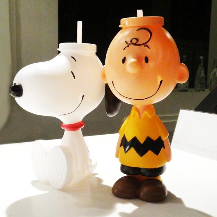 邊睇戲邊儲! Charlie Brown、Snoopy水樽香港有得買