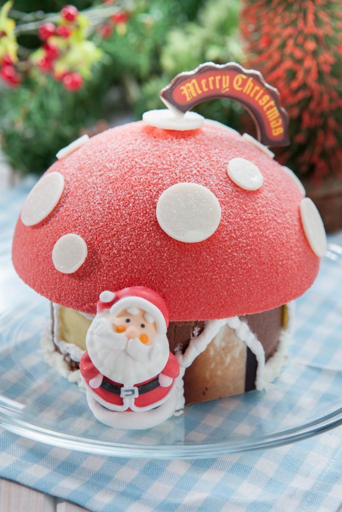 蘑菇屋蛋糕好可愛!Make it聖誕蛋糕新登場