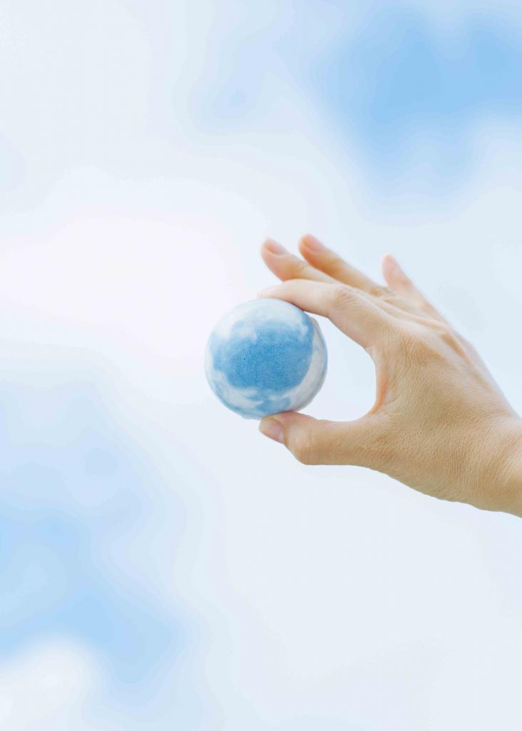 地球就在手中!限量版地球天然手工皂