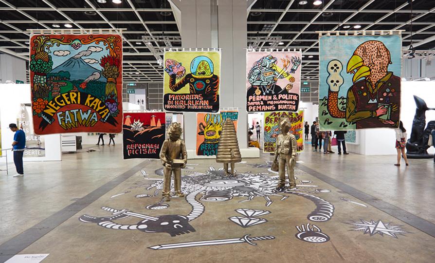 真文青好去處 香港巴塞爾藝術展2016