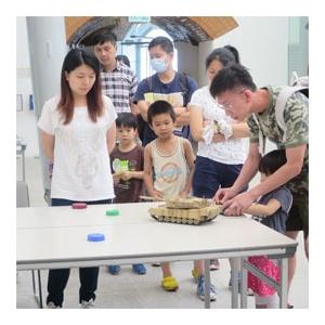 「探索香港海防歷史之旅」攤位遊戲