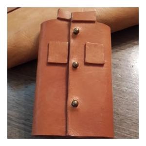 「中山裝」皮革匙包製作工作坊