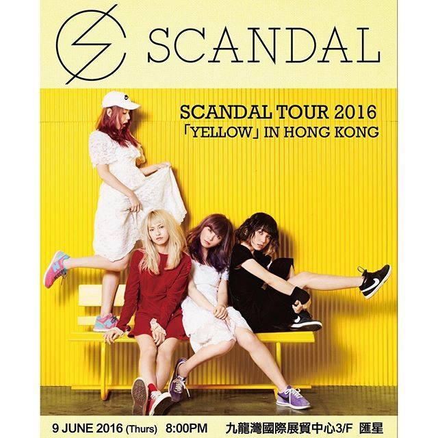 SCANDAL Tour 2016