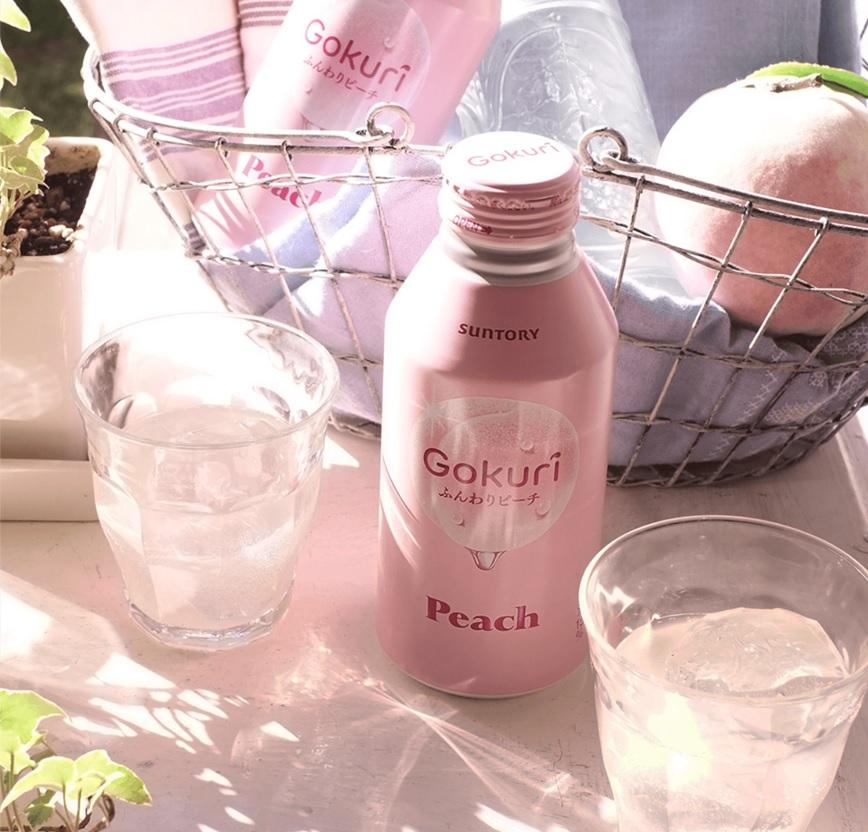香港超市有售!Suntory新推出粉紅白桃飲品