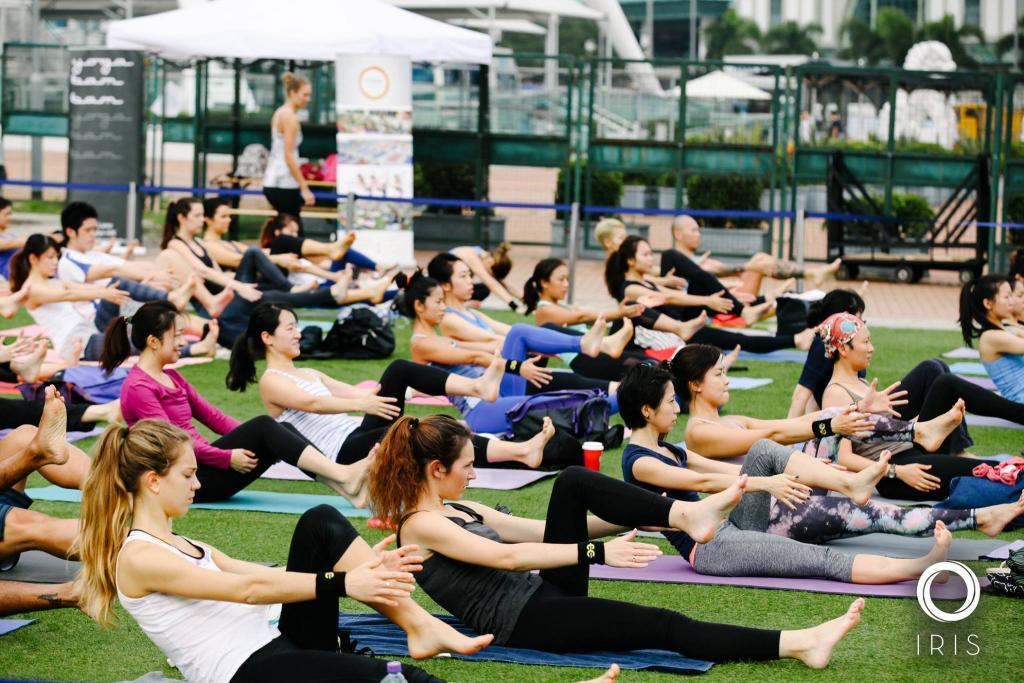 8堂瑜珈班免費學!西九大型瑜珈日