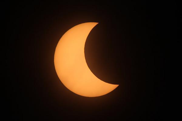 3月9日有日偏食 下次要等到2019年