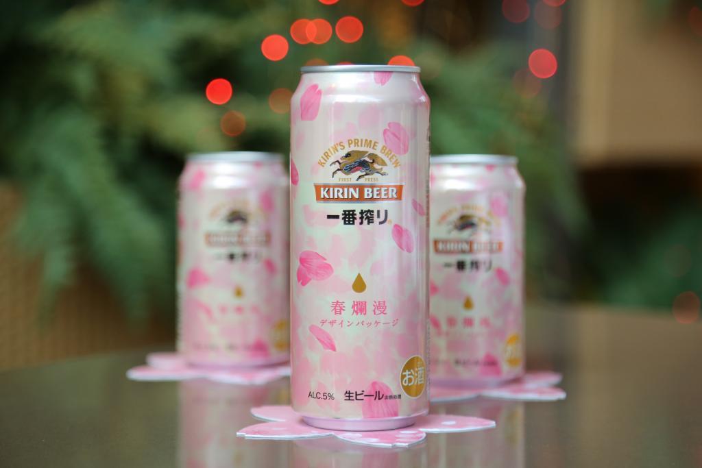 季節限定櫻花裝!日本麒麟新口味酒品登場