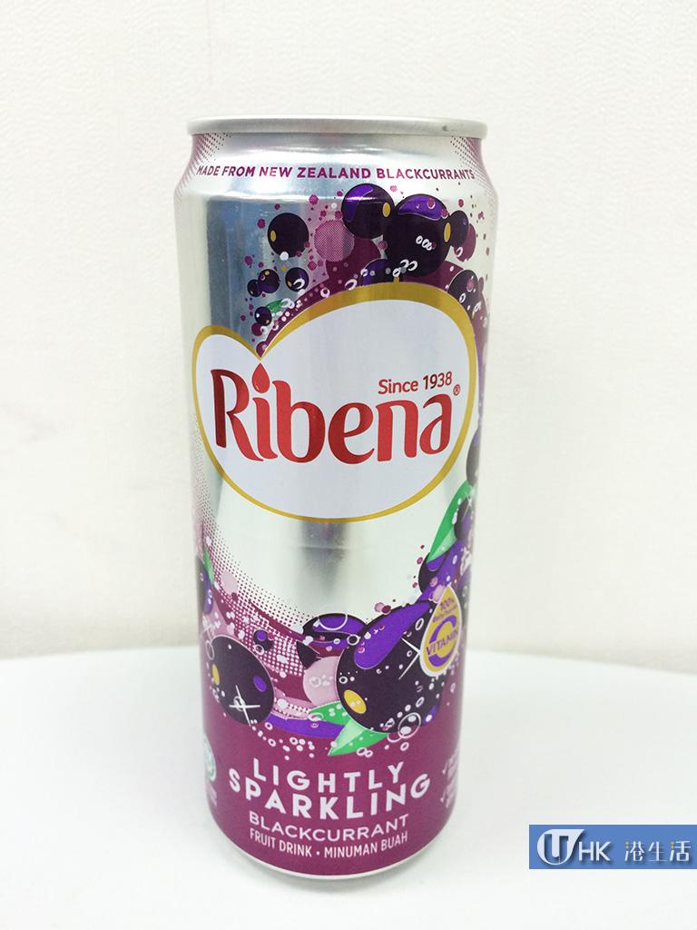 利賓納新產品!有氣黑加侖子汁登場!