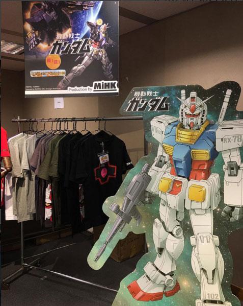 Gundam T恤買一送一!The Bazaar大特賣