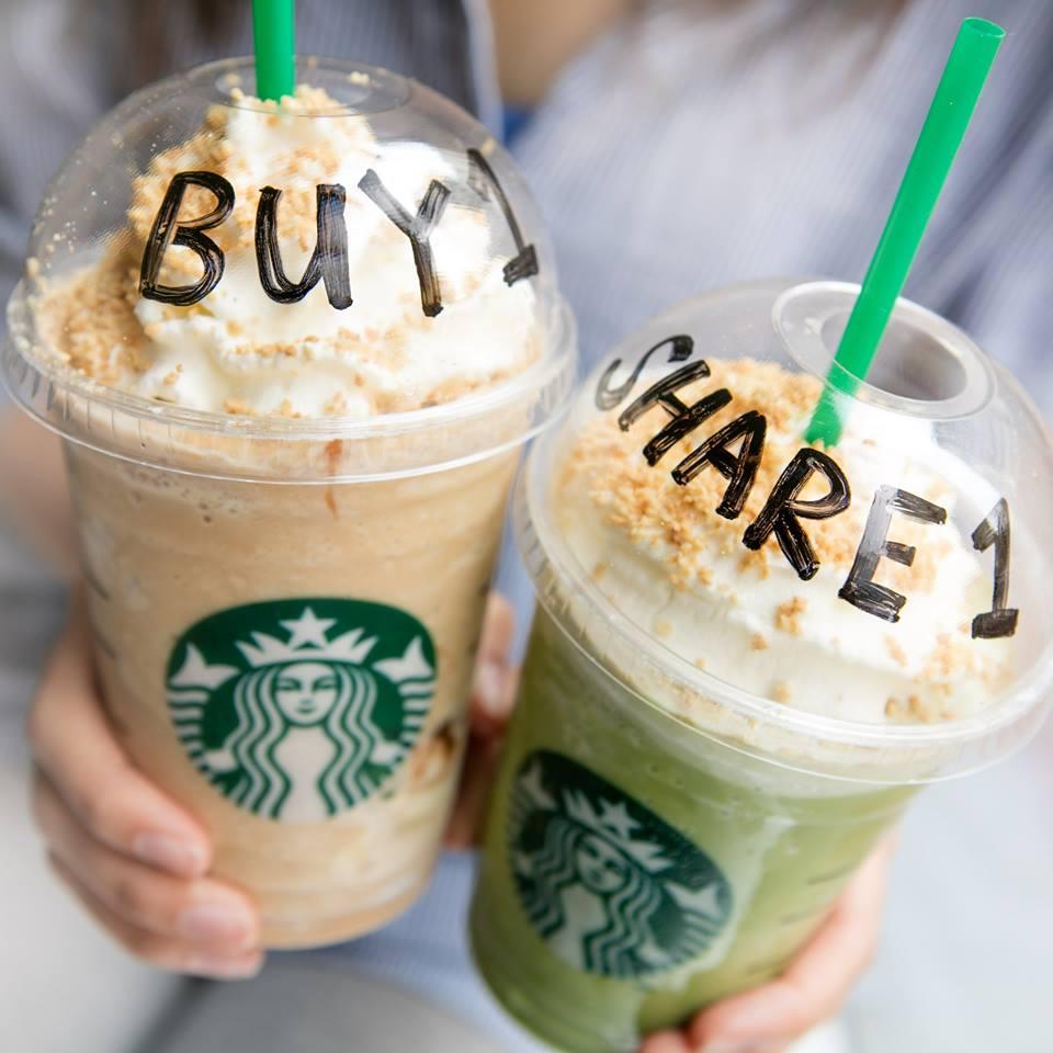 會員專享買一送一!Starbucks新款星冰樂