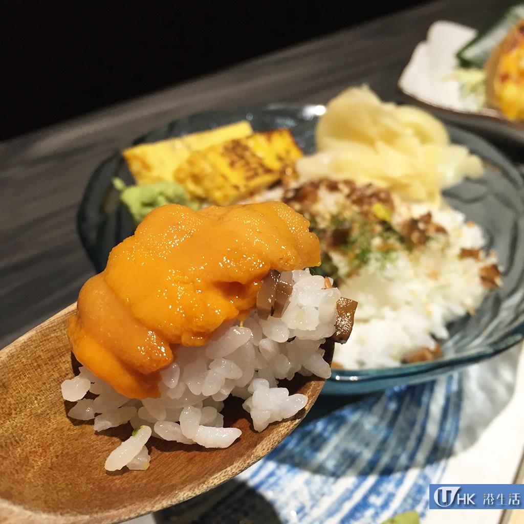 $78原板海膽飯!螢壽司新推宵夜魚生飯