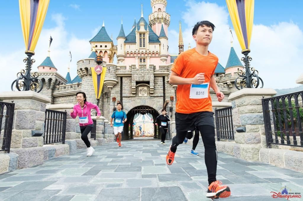 首次跑入園區!香港迪士尼樂園10K Weekend