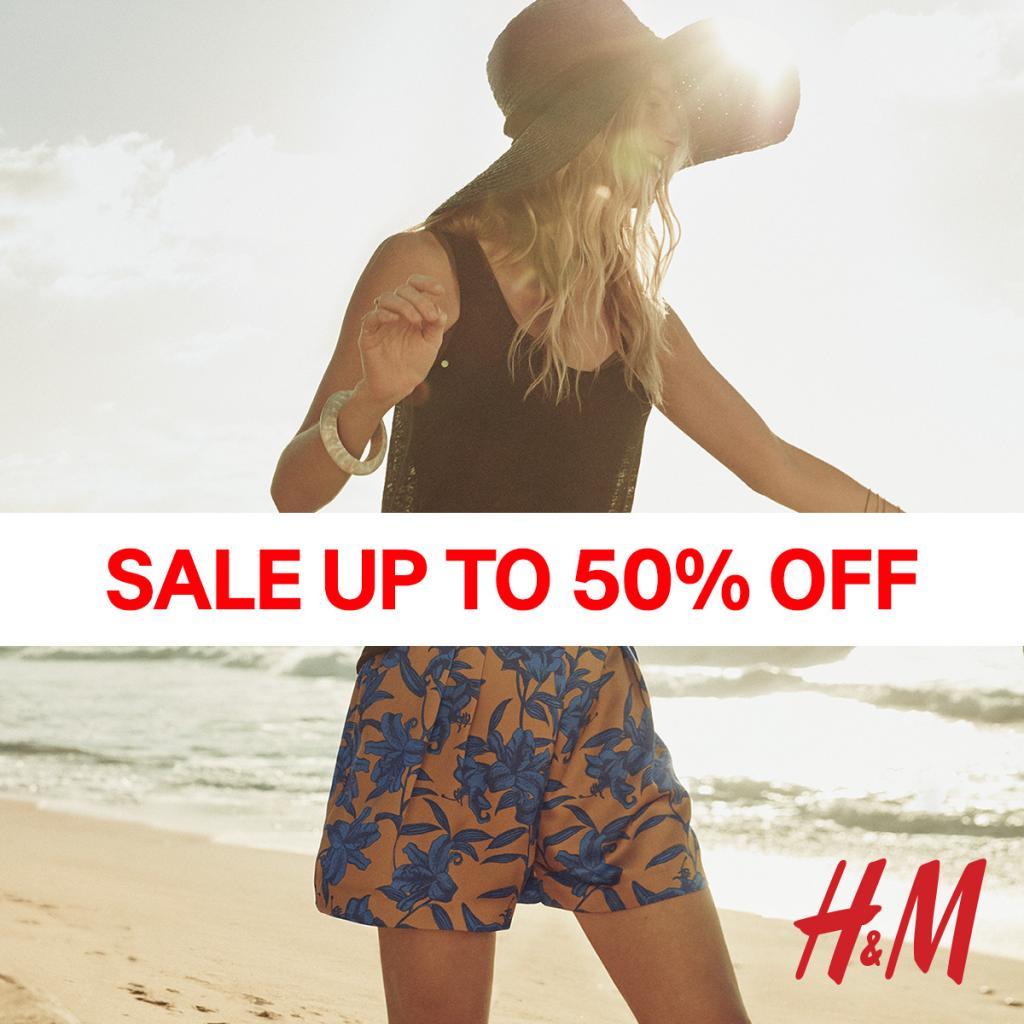 家品低至$20!H&M夏季大減價