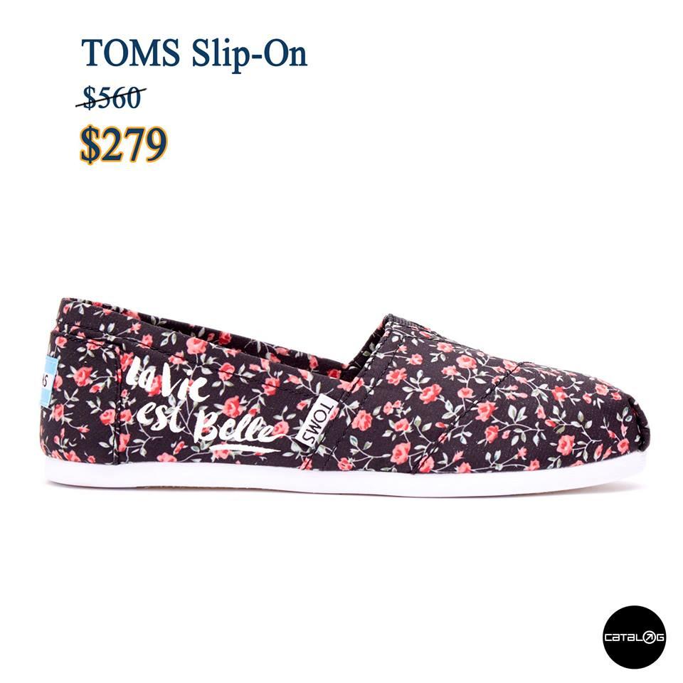 期間限定!半價買到TOMS布鞋