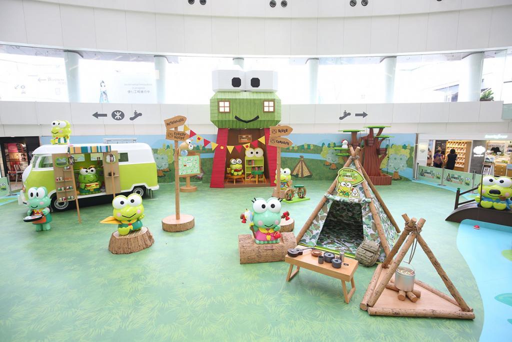 Keroppi展暑假舉行 必影5.5米Keroppi木屋塔