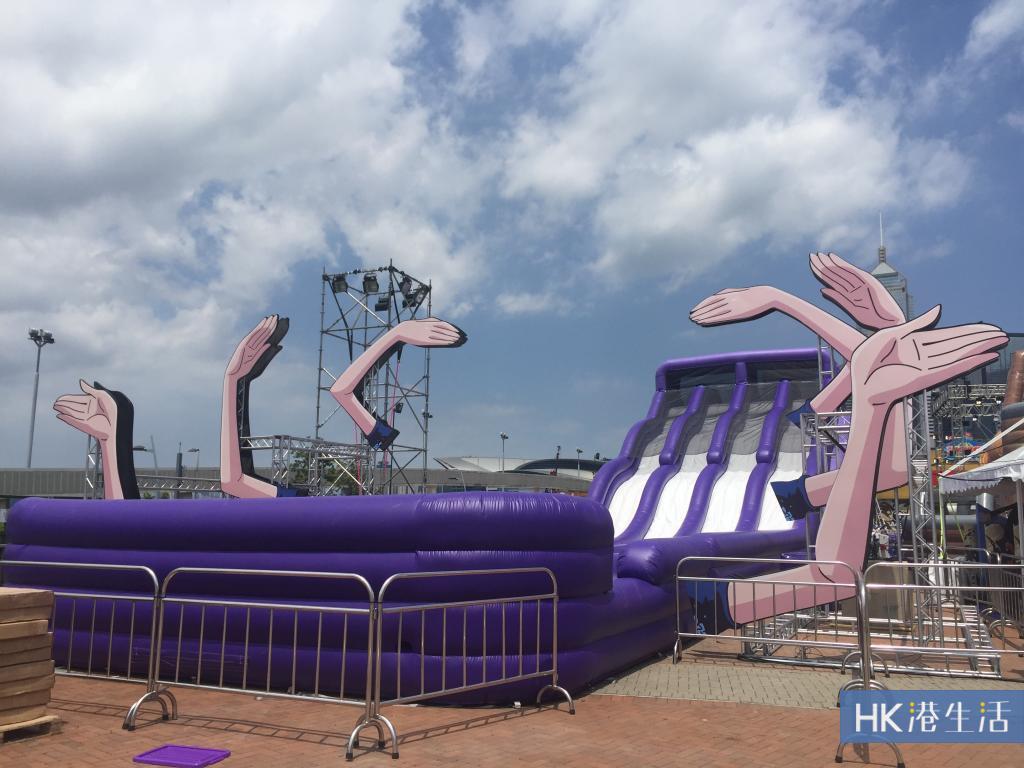 One  Piece海賊王嘉年華 滑梯、充氣障礙賽、攤位試玩報告