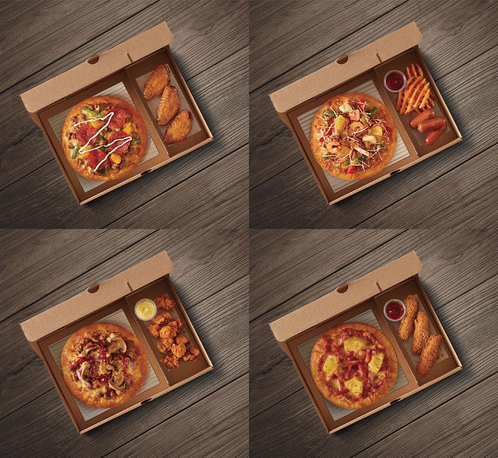 組合多達36款!Pizza Hut 全新一人獨食套餐