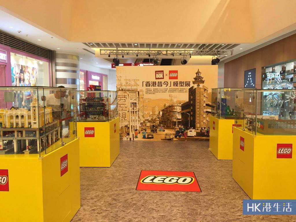 逾30萬顆粒砌成!九龍灣有LEGO 模型展