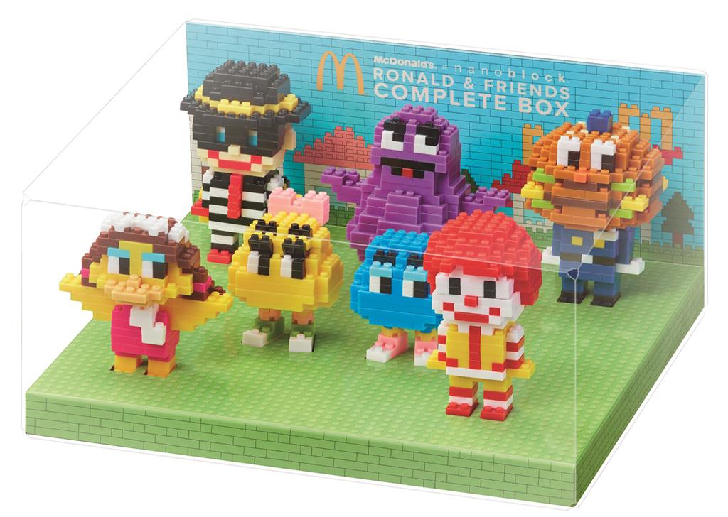 慶祝巨無霸面世50年!McDonald's x nanoblock系列登場