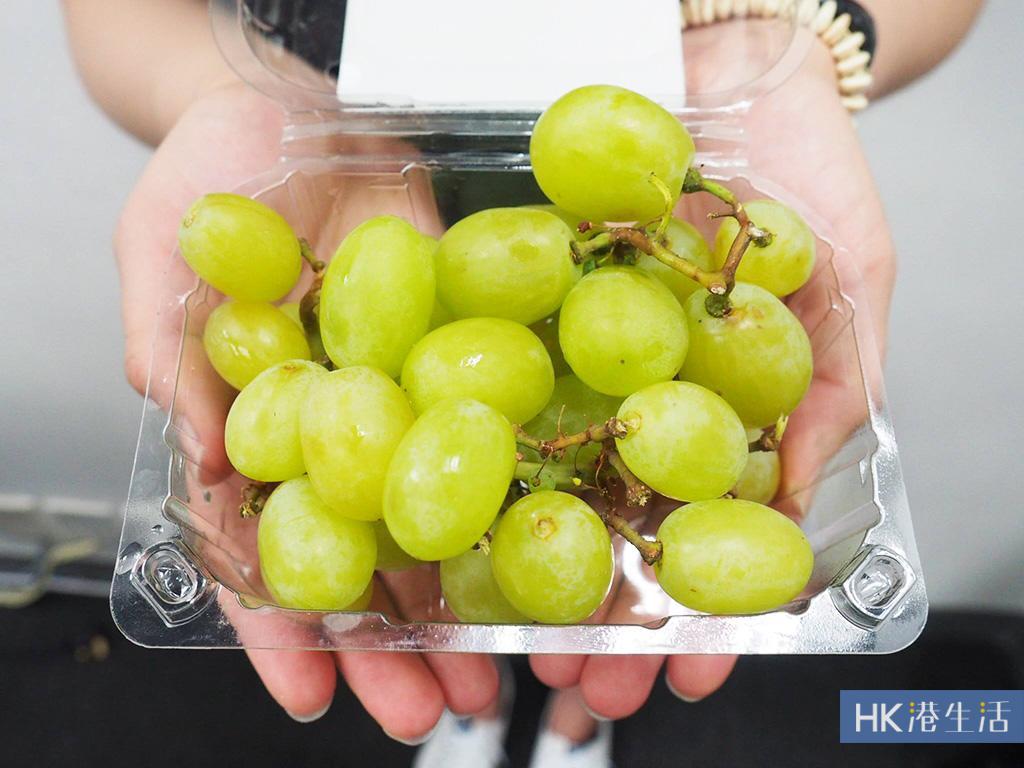 超市有售棉花糖提子!中秋必食超甜水果