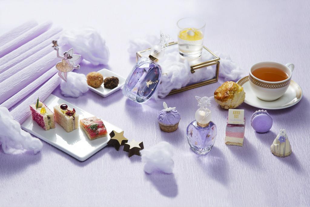 ANNA SUI X 喜來登!粉紫夢幻下午茶