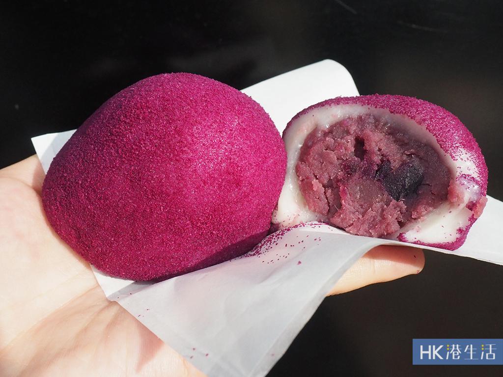爆餡加大版紫薯糯米糍!連鎖餅店新出秋日系列