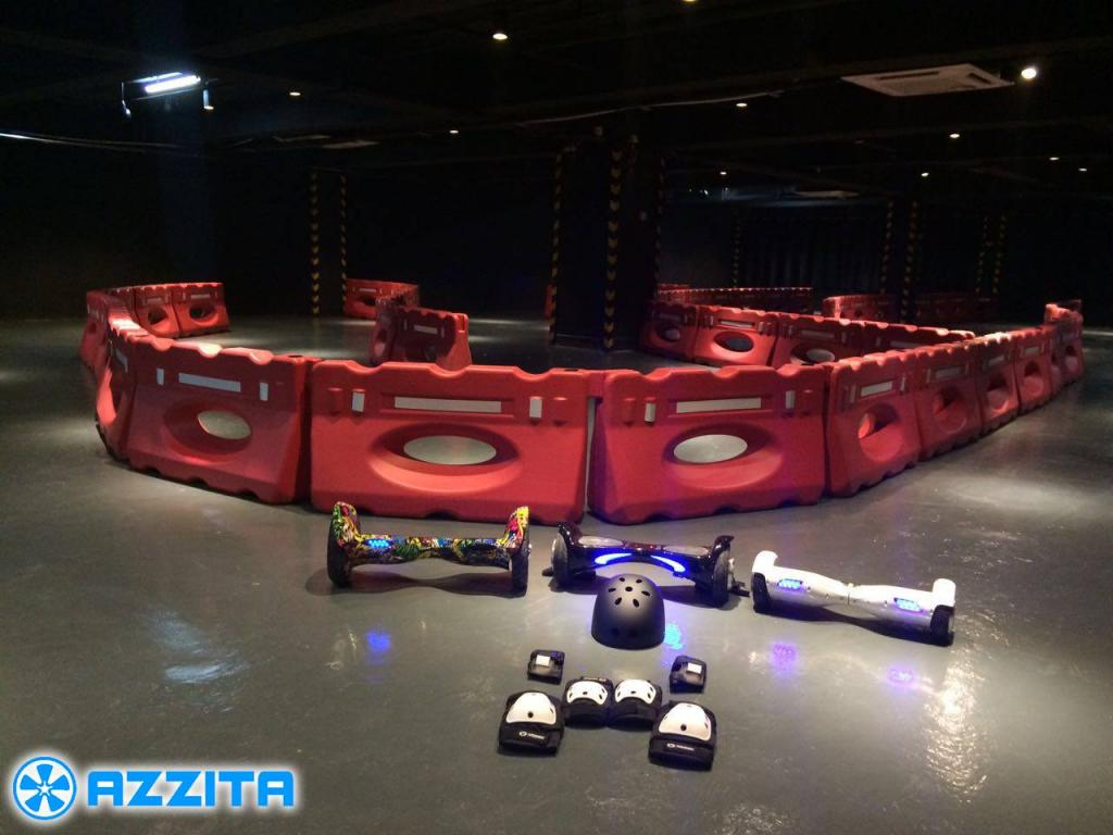 觀塘5000呎室內平衡車場  學生$59有得玩