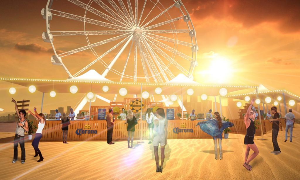 音樂、美食加手作市集!中環免費鬧市沙灘派對
