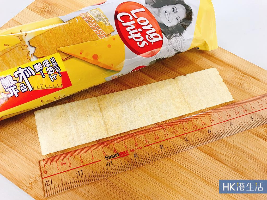 便利店驚現!20cm超長薯片