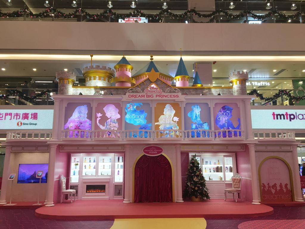 聖誕影相好去處!6大迪士尼公主華麗現身屯門