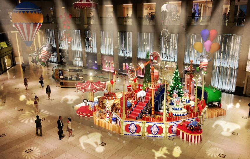 超過100個動物玩偶!中環巨型馬戲團音樂盒