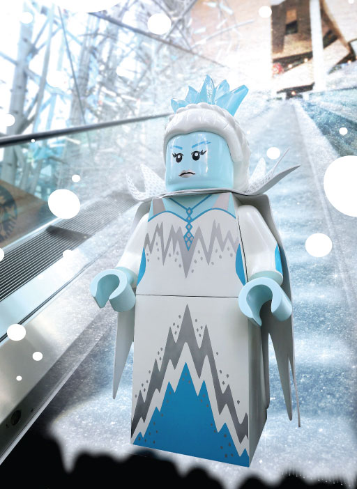 冰雪女皇現身?朗豪坊 x LEGO白色聖誕