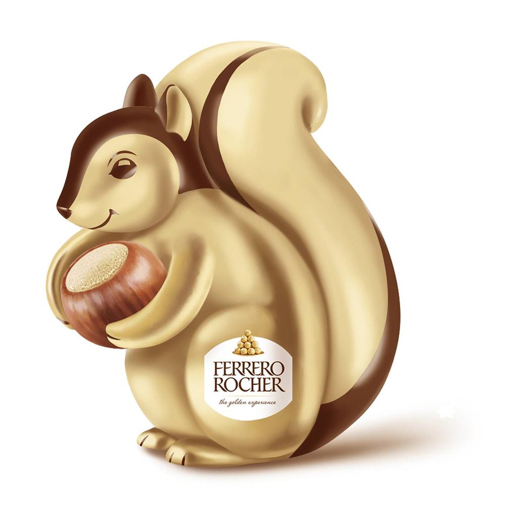 3D金莎松鼠超可愛!聖誕限定金莎朱古力展