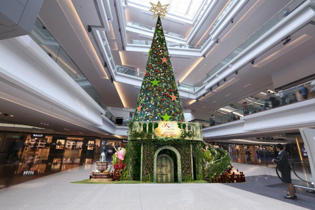 21米高聖誕樹!又一城3D聖誕《秘密花園》