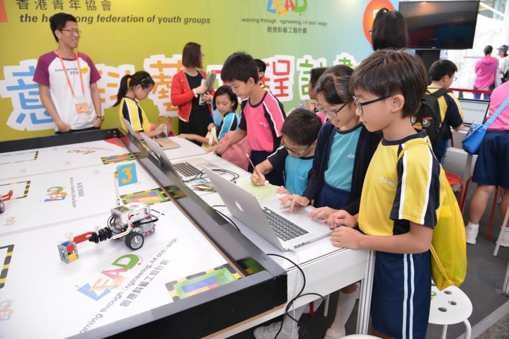 創新科技月2016揭幕 藍田商場玩巡迴工作坊