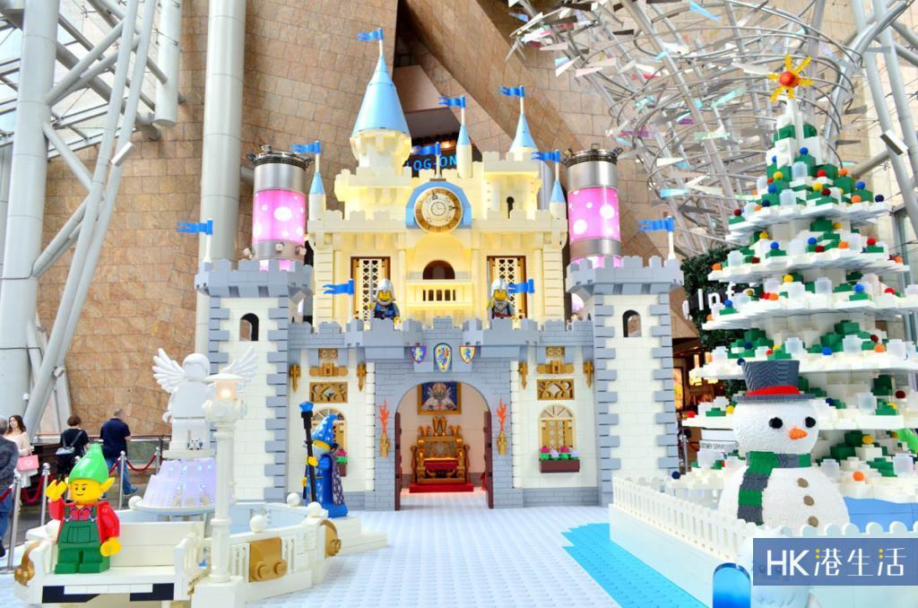 100萬塊LEGO顆粒構建!朗豪坊聖誕雪國9大打卡位率先睇