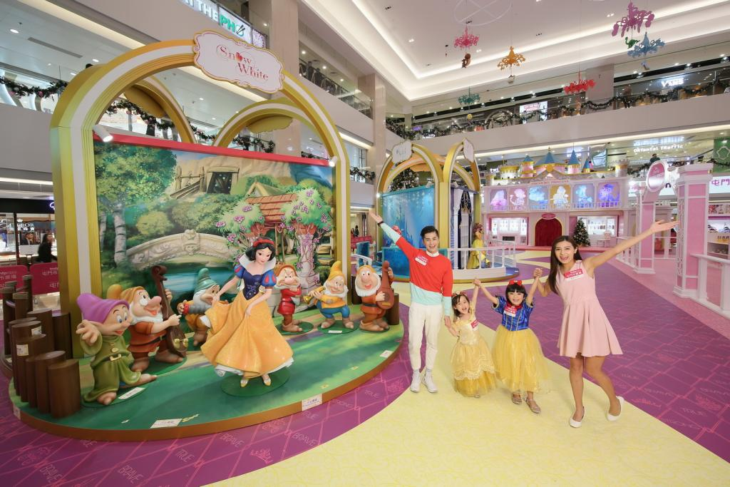屯門市廣場 x 迪士尼公主,今個聖誕一定又開心又好玩