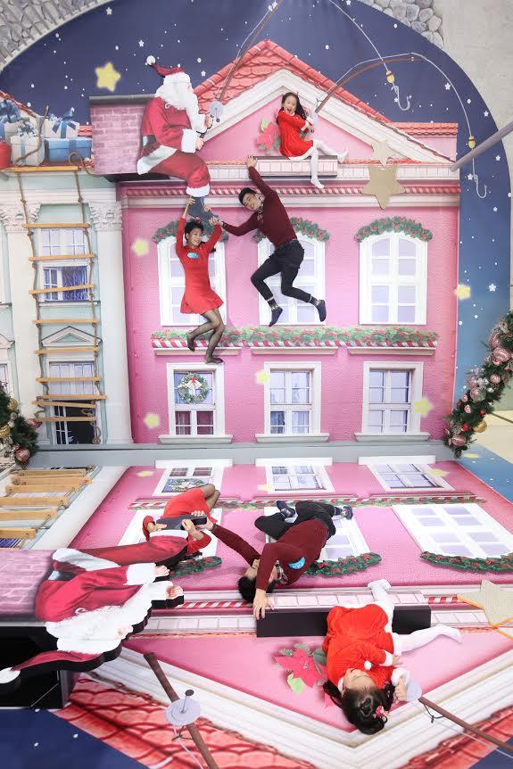 反地心吸力、夜光自拍!青衣城聖誕兩大打卡位