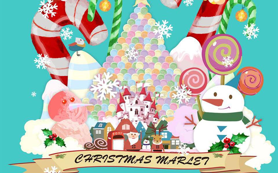 玩人力發電聖誕郵差 麥田捕手聖誕市集
