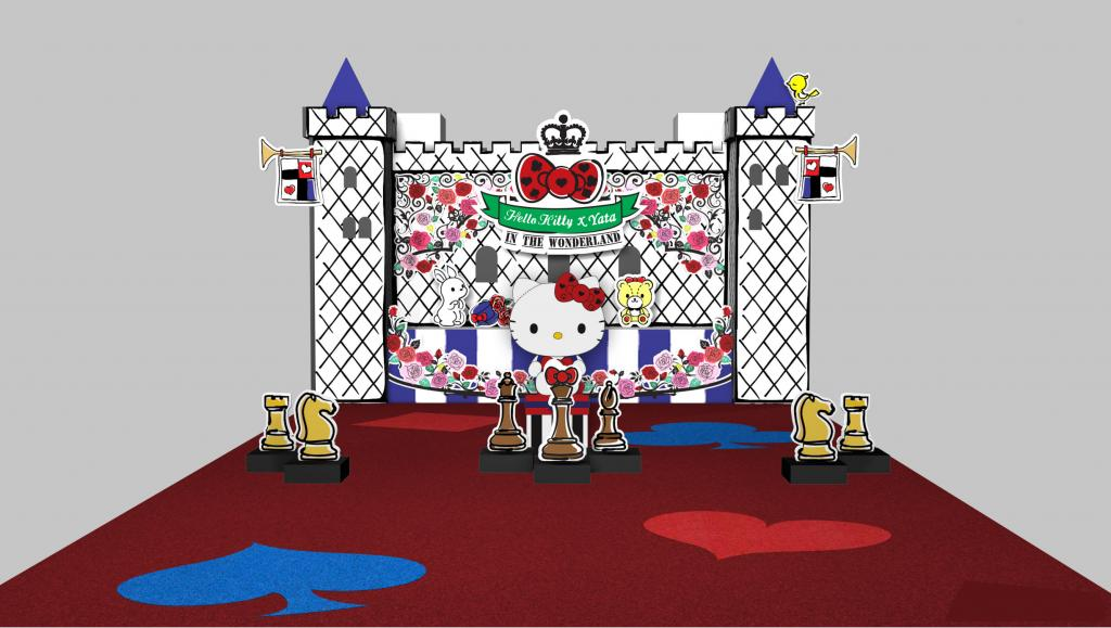 全港首個!Hello Kitty In The Wonderland期間限定店