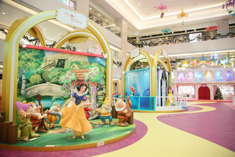 要見迪士尼公主,去屯門市廣場就得㗎啦!