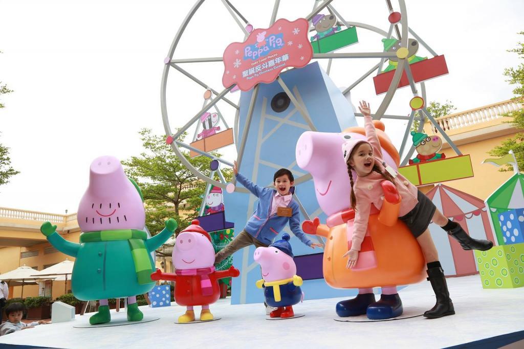 全港首個Peppa Pig戶外嘉年華 跟粉紅小豬過聖誕