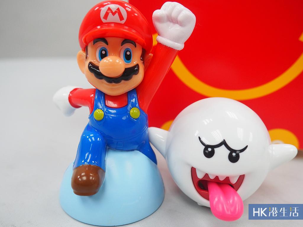 大人都想換!麥當勞套餐送Super Mario公仔
