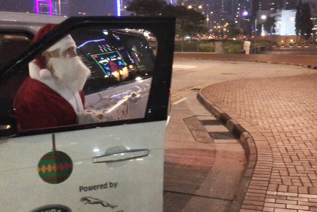 3日限定!聖誕老人坐Uber派PS4、Le Creuset煲