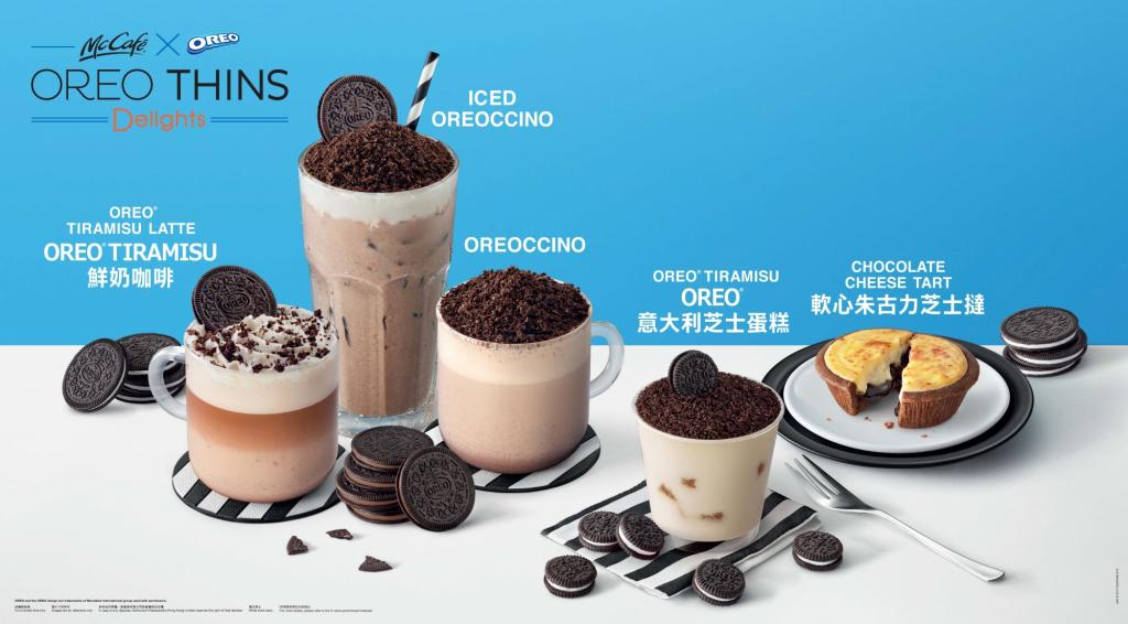 OREO控注意!McCafé新推OREO系列飲品、甜品!