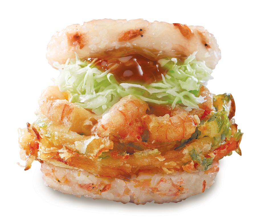 新春限定!Mos Burger新出蝦天婦羅珍珠堡